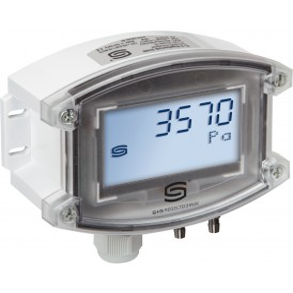 Pressostato con trasmettitore di pressione differenziale con uscita 0-10V e di commutazione - cod. PREMASREG 711x