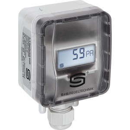 Trasmettitore di pressione, pressione differenziale e portata volumetrica con uscita attiva, IP43 - cod. PREMASGARD 112x-SD