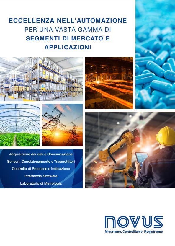 Catalogo prodotti Novus Automation