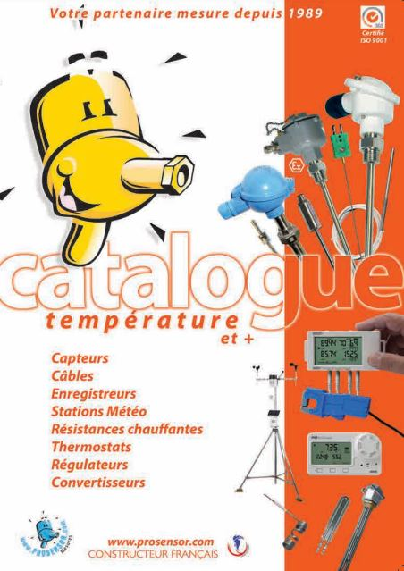 Catalogo prodotti Prosensor