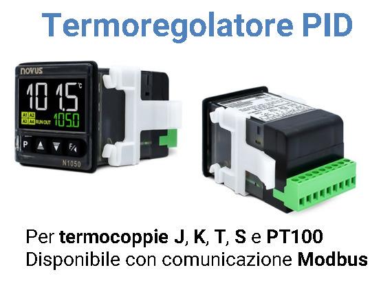 Regolatore di temperatura PID