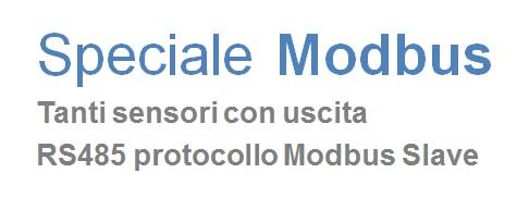 Sezione Modbus