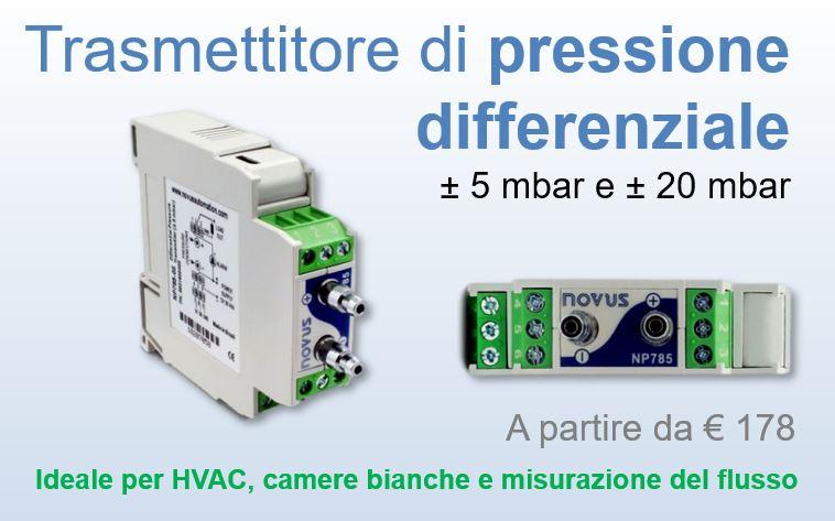 Trasmettitore di pressione differenziale - cod. NP785