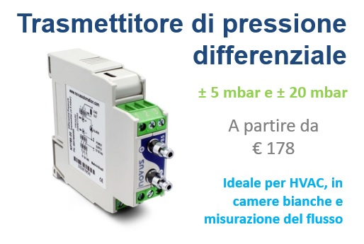 Trasmettitore di pressione differenziale NP785